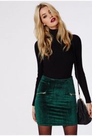 a-turtleneck-with-a-velvet-skirt