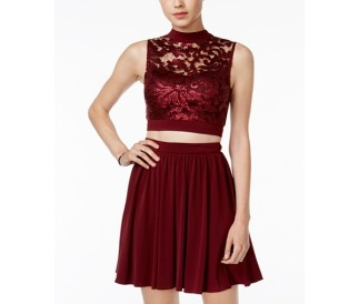 this-2-piece-mesh-flare-dress